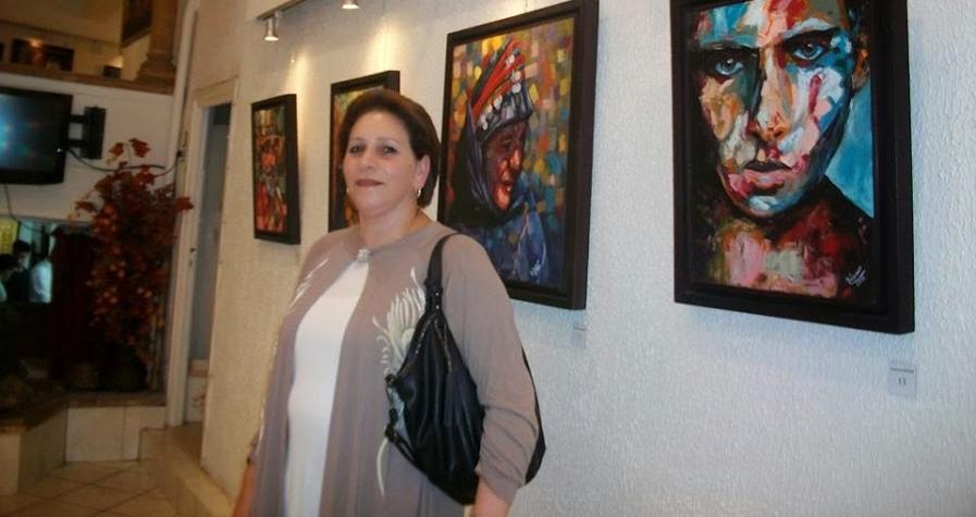 حوار مع الفنانة التشكيلية سميشة الباشري