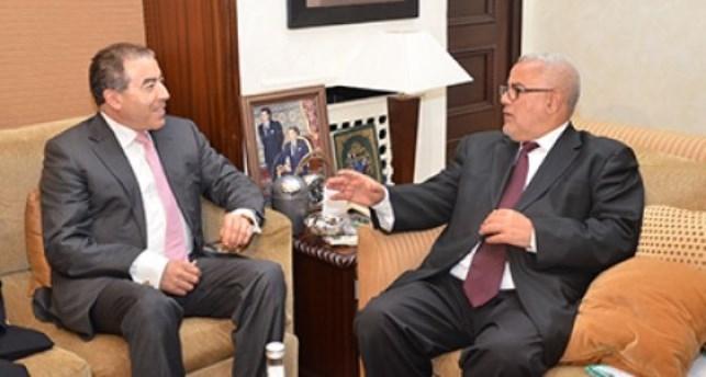 وزير الخارجية التونسي يبحث سبل التعاون مع رئيس الحكومة المغربية