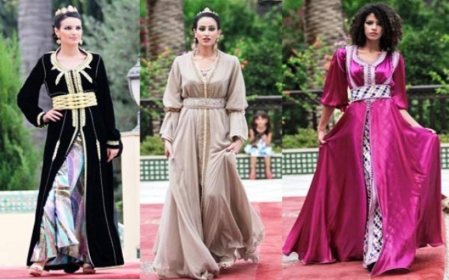 تصميمات جديدة للقفطان المغربي استعدادا لشهر رمضان
