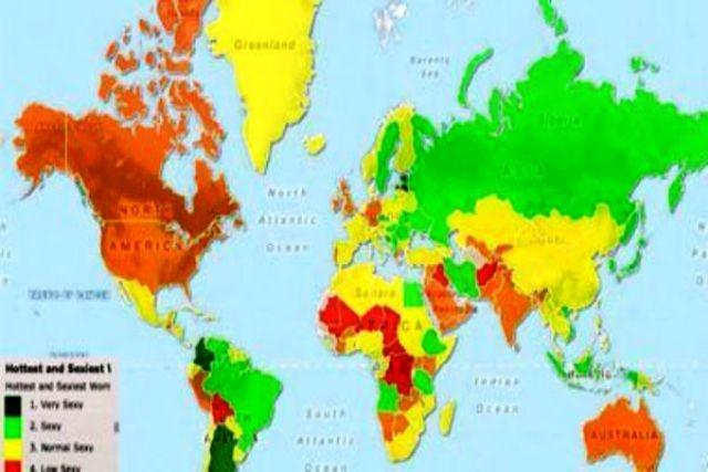 خريطة تصنف نساء المغرب العربي في المرتبة الثالثة عالميا من حيث الجاذبية