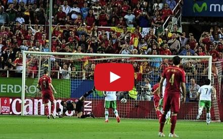 اسبانيا 2-0 بوليفيا