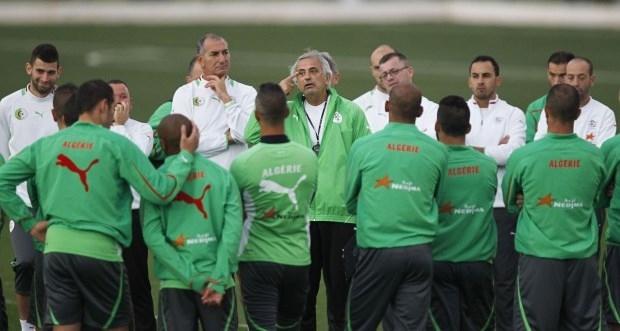 حليلوزيتش يحل بالجزائر للشروع في برنامج الخضر