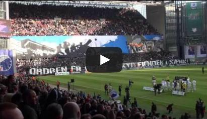 جماهير كوبنهاجن تهدم قلعة في الملعب