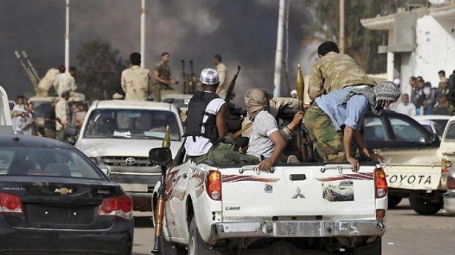 ليبيا: مواجهات بين الجيش وعناصر مسلحة ببنغازي