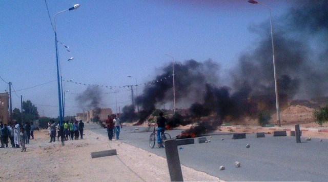 شباب سد رحال ينتفض من جديد احتجاجا على انعدام التنمية