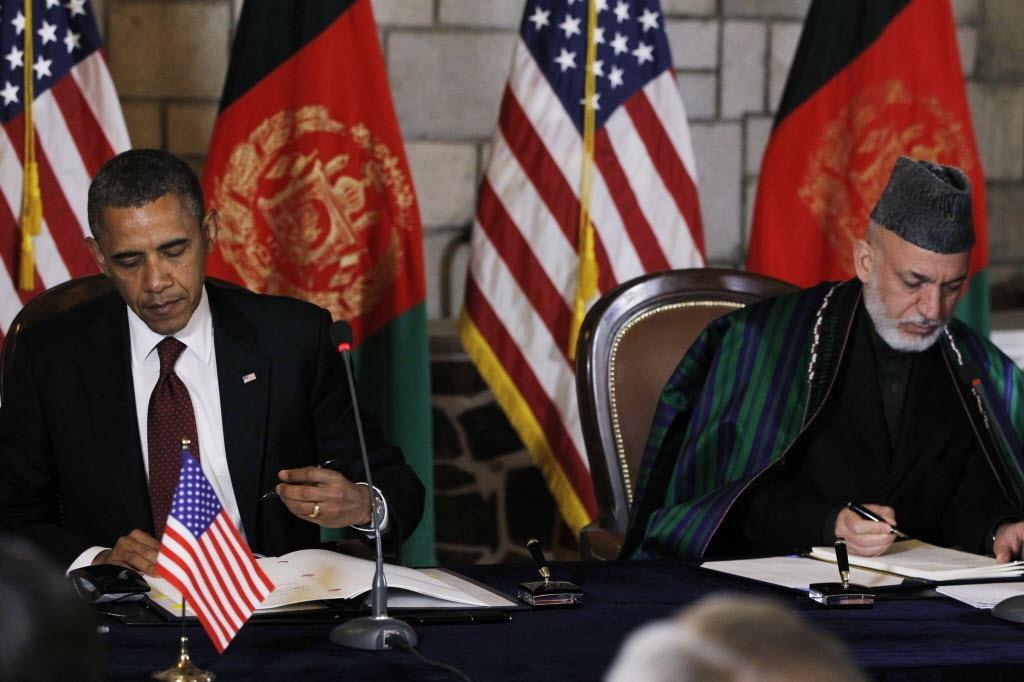 اوباما يبدأ زيارة لافغانستان لتفقد قواعده العسكرية