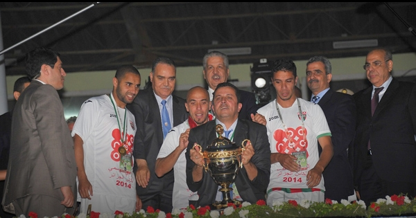 مولودية الجزائر يتوج بالكأس على حساب شبيبة القبائل