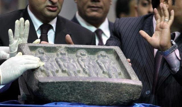 بعد أربع سنوات..مصر تسترجع آثارا فرعونية مهربة