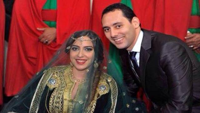 زفاف مغربي..هكذا احتفلت ياسمينة بادو  بابنتها