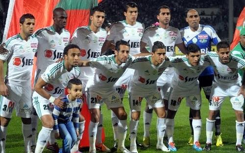 الرجاء يكتسح المغرب التطواني بخماسية قاسية