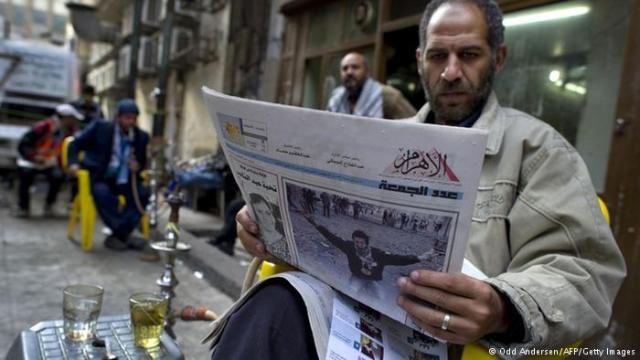 الاهرام تعدم تسعة ألاف نسخة بسبب حوار السيسي