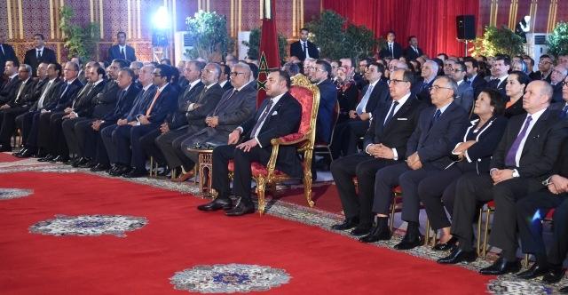 العاهل المغربي يترأس حفل إطلاق المشاريع المهيكلة الرامية إلى تحقيق التنمية الحضرية والسياحية للرباط