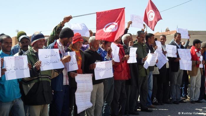 تونس: محتجون يطالبون بحل المجلس التأسيسي