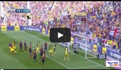 رشلونة واتلتيكو مدريد 1-1