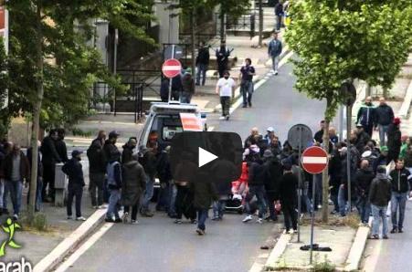 أحداث عنف بين جماهير نابولي وفيورنتينا