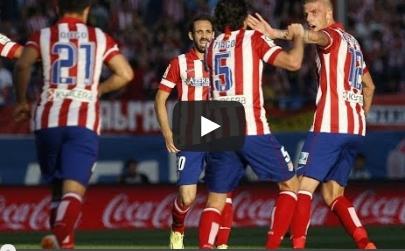 اتلتيكو مدريد وملقا 1-1