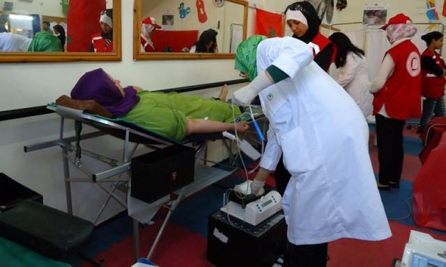دور المرأة المغربية في تحسين وضعية التبرع بالدم