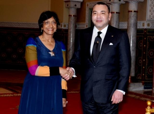 بيلاي:الملك أكد لي انخراطه في الدفاع عن حقوق الإنسان في مجموع التراب المغربي