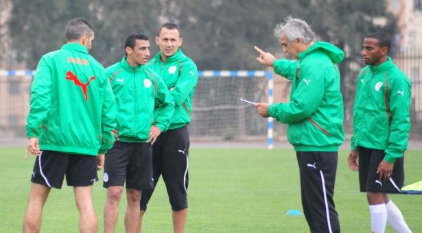 30 لاعبا جزائريا ضمن قائمة حليلوزيتش قبل المشاركة في المونديال