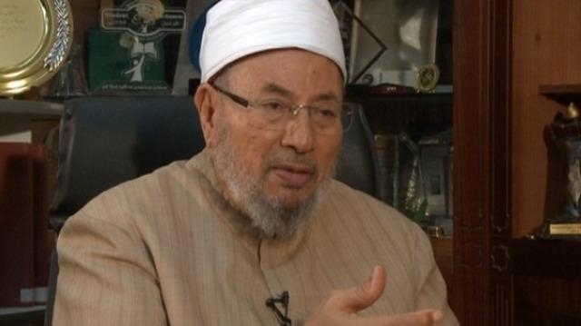 القرضاوي يفتي بتحريم الانتخابات الرئاسية بمصر