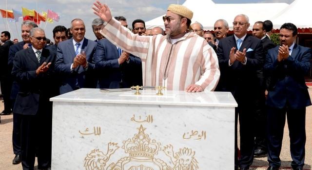 الملك محمد السادس يطلق مشاريع فلاحية جديدة في جهة تادلة ـ ازيلال