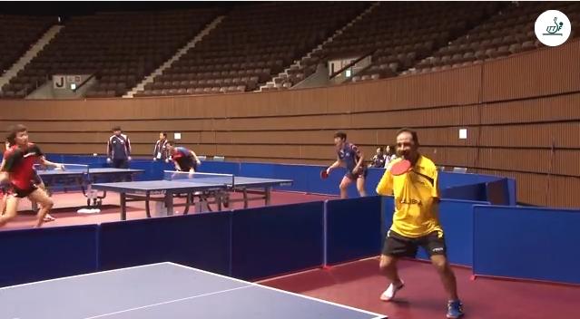 مصري يتحدى الإعاقة ويبدع في كرة الطاولة