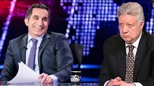 مرتضى منصور يفي بوعده و يوقف بث برنامج باسم يوسف