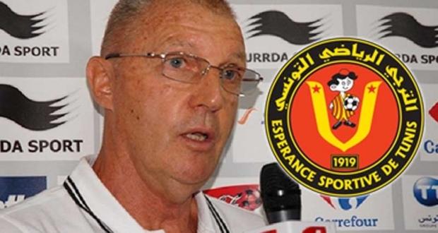 ادارة الترجي تقيل  المدرب الهولندي كرول