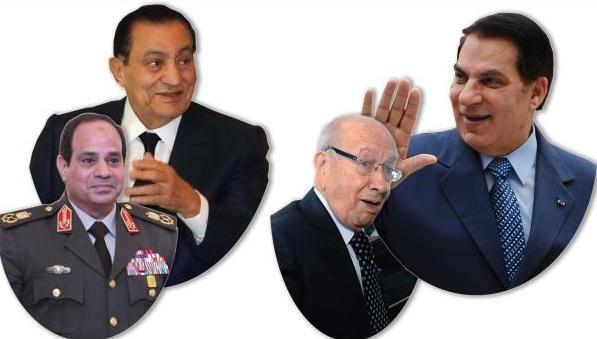 آليات الثورة المضادة.. تونس ومصر مثالاً