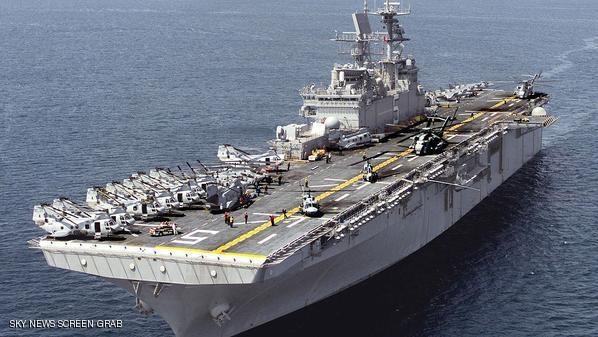 واشنطن تحرك بارجة هجومية إلى سواحل ليبيا