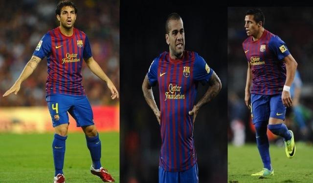 برشلونة يعرض ثلاثة لاعبين للبيع بـ80 مليون
