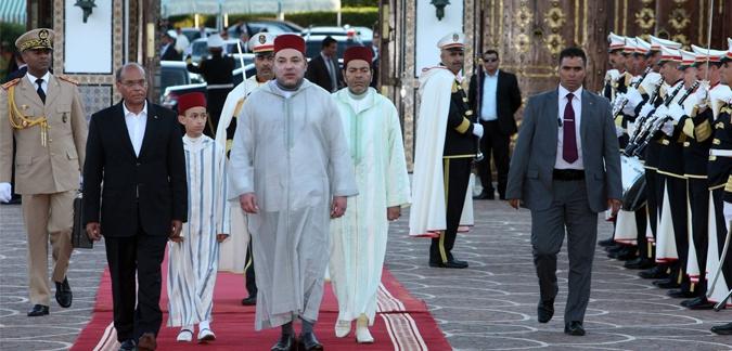 العاهل المغربي يبدأ اليوم زيارته الرسمية إلى تونس