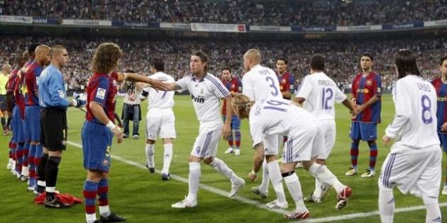 برشلونة يهنئ الريال باللقب العاشر لأبطال أوروبا