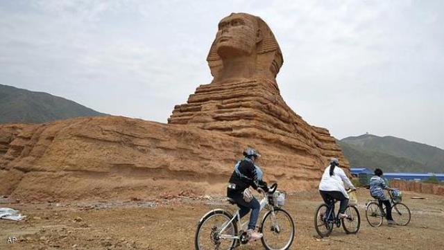مصر ترفع شكوى ضد الصين...وأبو الهول هو السبب