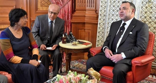 مباحثات بين العاهل المغربي ونافي بيلاي بشأن بروز أجيال جديدة لحقوق الإنسان