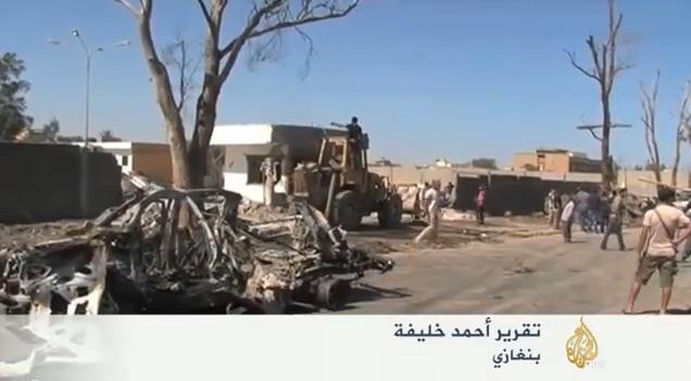 عودة التوتر إلى بنغازي بعد هدوء نسبي