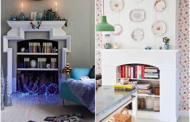 5 أفكار مميزة لتزيين المنزل بالكتب