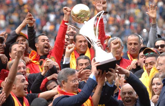 الترجي بتوج بطلا للدوري التونسي للمرة 26 في تاريخه