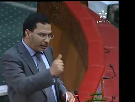 مصطفى الخلفي متحدثا عن التلفزة المغربية!