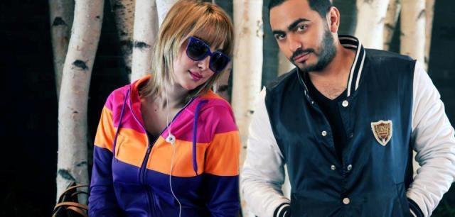 تامر حسني وزوجته بسمة بوسيل معا في لبنان