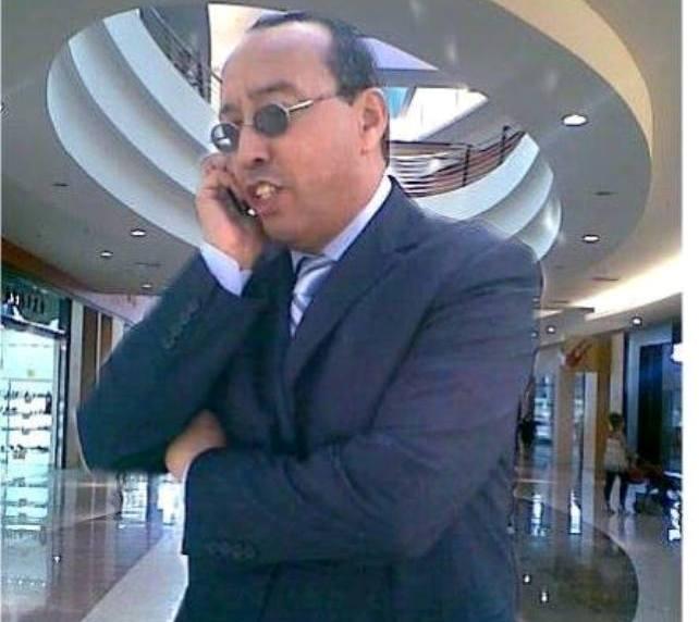 امسية مع الشاعر مصطفى الشليح في مدينة سلا