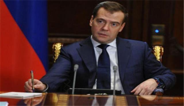 مدفيديف: الغاز الروسي  قد يوجه الى الصين