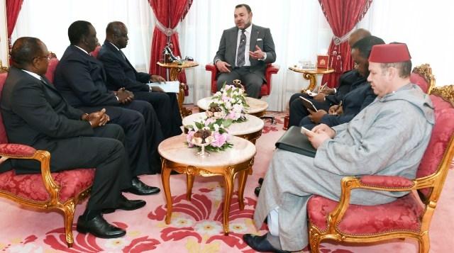 العاهل المغربي يستقبل مبعوثا من الرئيس الإيفواري