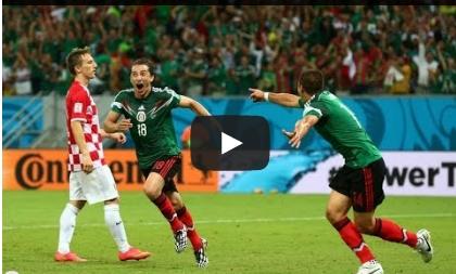المكسيك وكرواتيا 3-1