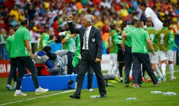 حاليلوزيتش يهدي التأهل إلى ملايين الجزائريين