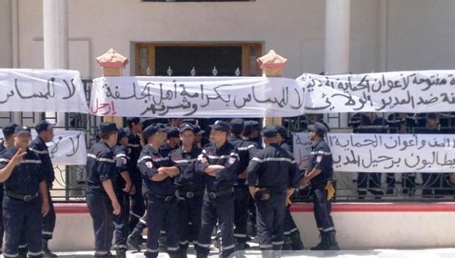 الجزائر: احتجاجات رجال الحماية المدنية بالجلفة