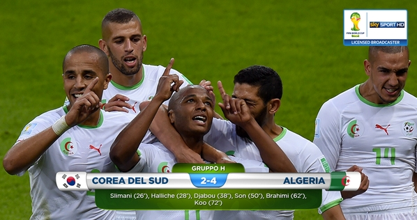 المنتخب الجزائري يتألق ويهزم كوريا برباعية