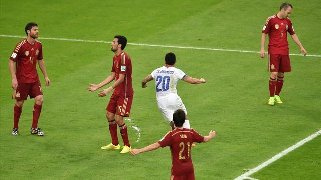 المنتخب الاسباني يقصى من كأس العالم