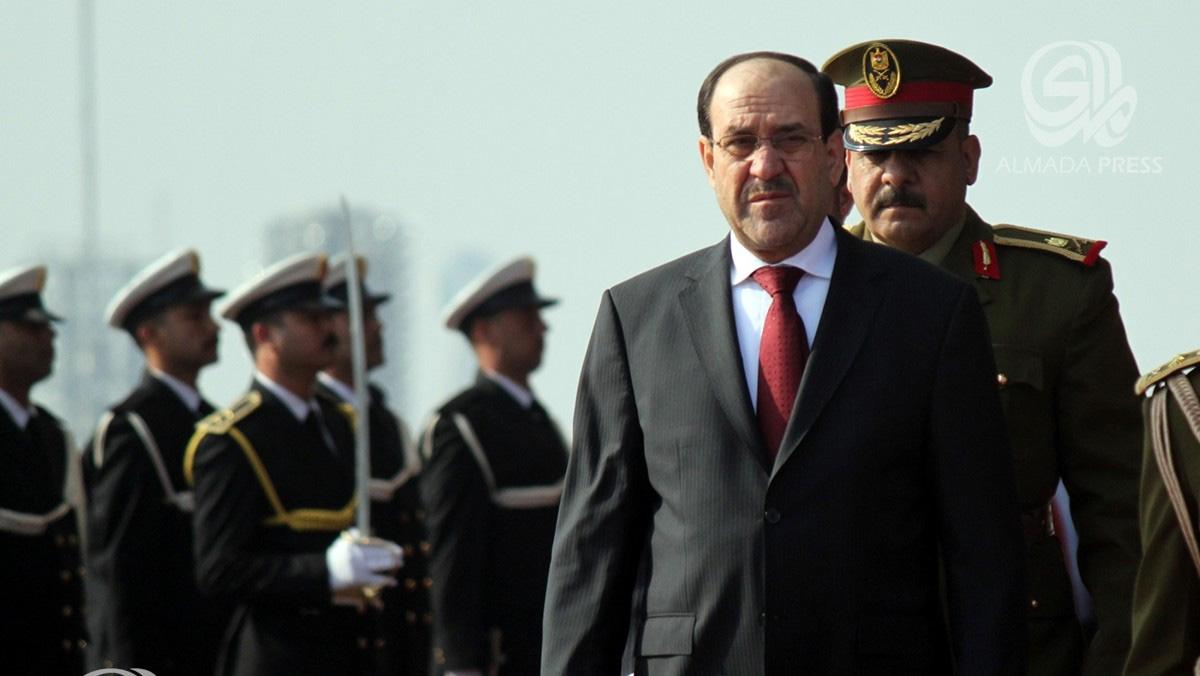 المالكي يقر بالحل السياسي ويهاجم تكريت ميدانيا