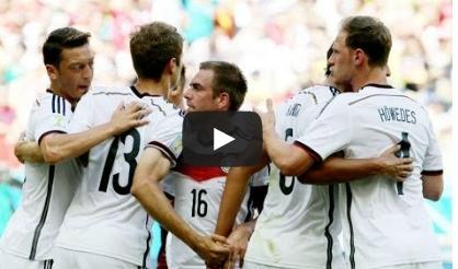 المانيا والبرتغال 4-0